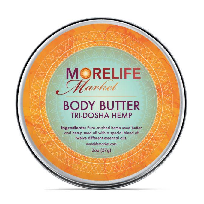 MoreLife Market - Body Butter -Tri Dosha Hemp