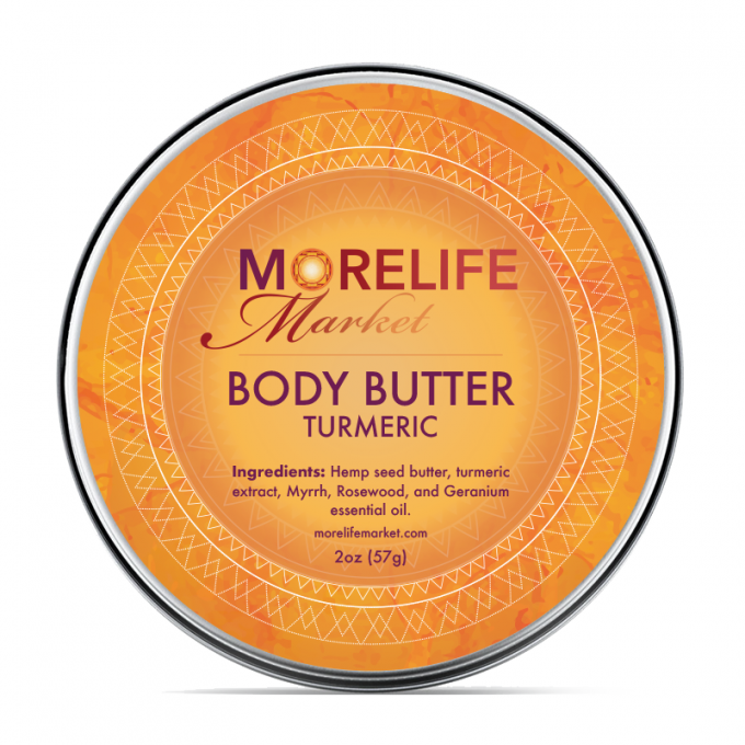 MoreLife Market - Body Butter -Turmeric Hemp