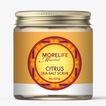 MoreLife Market - sea salt scrub