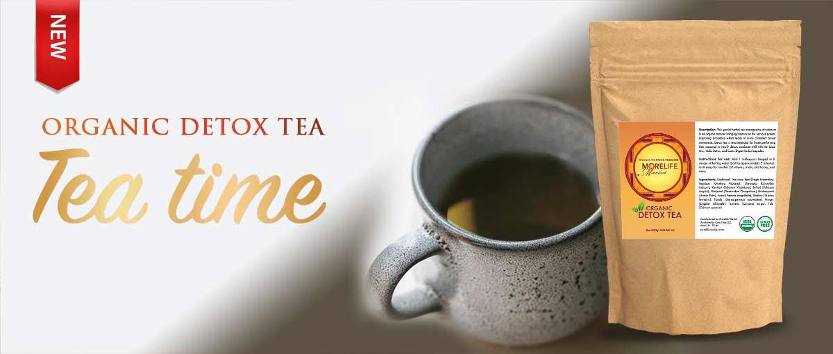 Tea Time Organic Detox Tea